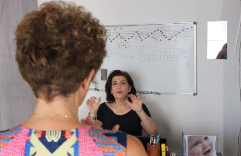 Coaching par la voix individuel par Liliana Sallustio