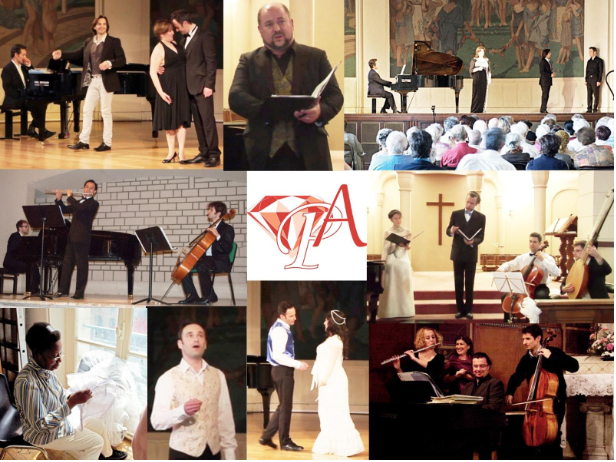 collage de concerts de l'association Prima l'Arte
