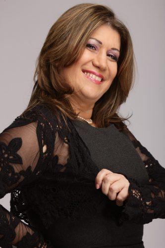 portrait de Liliana Sallustio en pose shooting